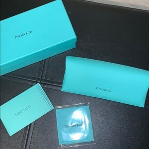 NEW tiffany & co. glasses case